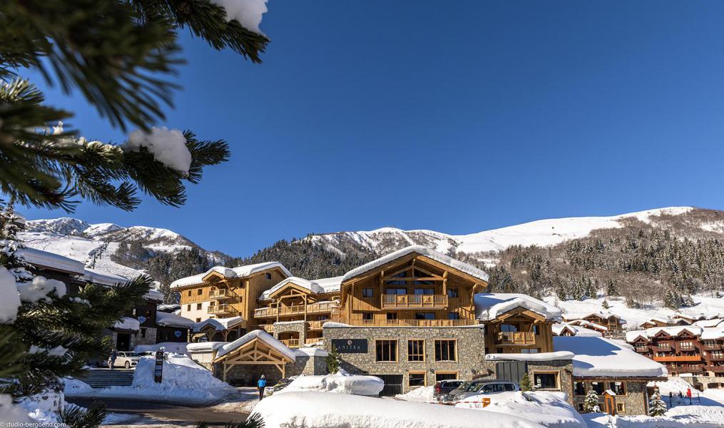 Ski verhuur Résidence Anitéa - Valmorel - Buiten winter