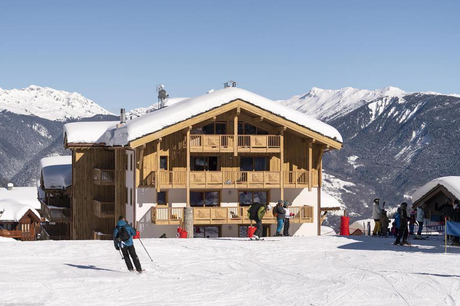 Каникулы в горах Résidence Anitéa - Valmorel - зимой под открытым небом