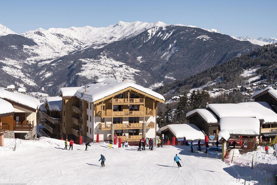 Vacances en montagne Résidence Anitéa - Valmorel - Extérieur hiver