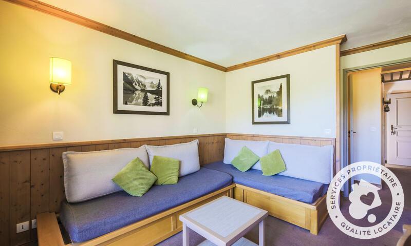 Vacances en montagne Appartement 2 pièces 5 personnes (Sélection 32m²-2) - Résidence Athamante et Valériane - Maeva Home - Valmorel - Extérieur hiver