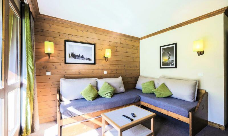 Vacances en montagne Appartement 2 pièces 6 personnes (Sélection 39m²) - Résidence Athamante et Valériane - Maeva Home - Valmorel - Extérieur hiver