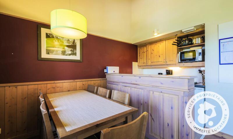 Vacances en montagne Appartement 3 pièces 7 personnes (Sélection 46m²-3) - Résidence Athamante et Valériane - Maeva Home - Valmorel - Extérieur hiver