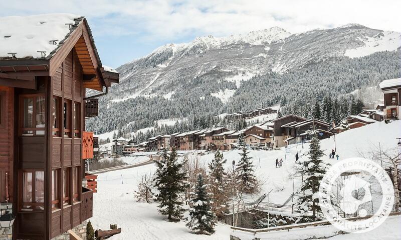Vacances en montagne Résidence Athamante et Valériane - Maeva Home - Valmorel - Extérieur hiver