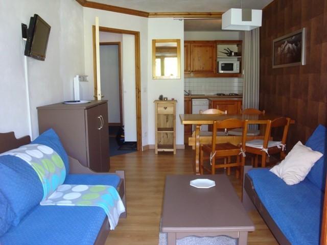 Location au ski Appartement 2 pièces 4 personnes (001) - Résidence l'Athamante - Valmorel - Séjour