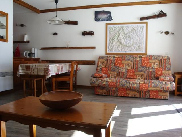 Ski verhuur Studio 5 personen (002) - Résidence l'Athamante - Valmorel - Appartementen