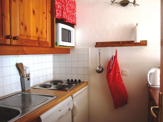 Ski verhuur Studio 5 personen (002) - Résidence l'Athamante - Valmorel - Keukenblok