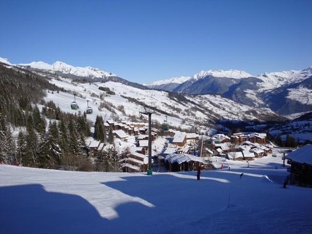 Vacances en montagne Résidence l'Orgentil - Valmorel - Extérieur hiver