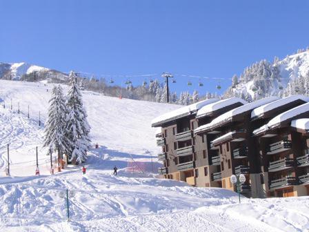 Ski verhuur Appartement 3 kamers mezzanine 5 personen (024) - Résidence l'Orgentil - Valmorel