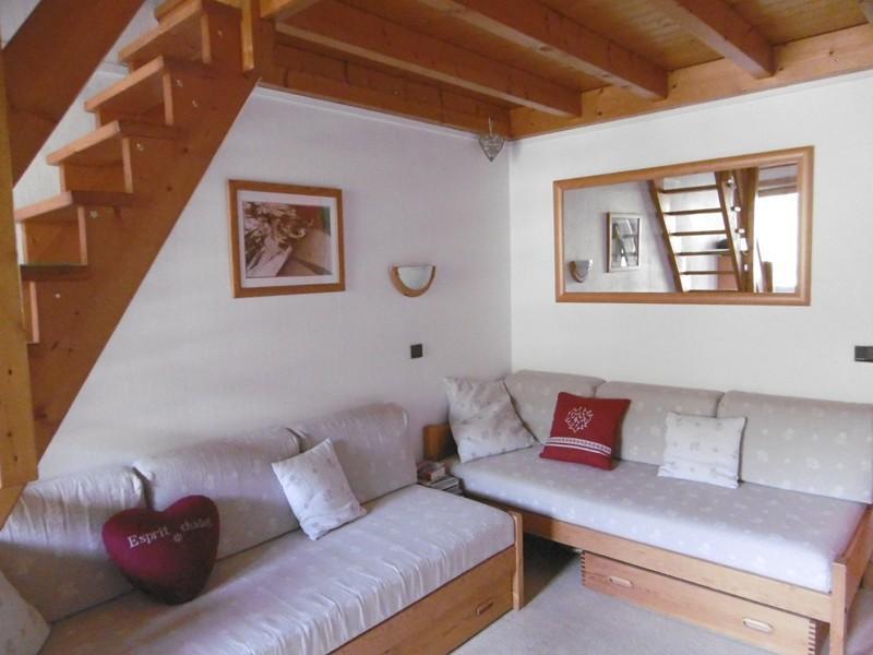 Location au ski Appartement 2 pièces mezzanine 6 personnes (047) - Résidence l'Orgentil - Valmorel - Banquette