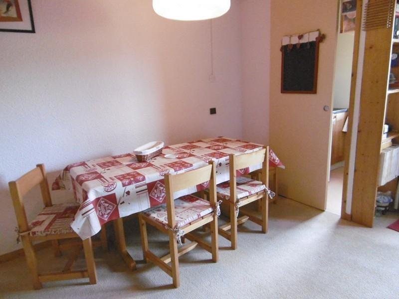 Location au ski Appartement 2 pièces mezzanine 6 personnes (047) - Résidence l'Orgentil - Valmorel - Table