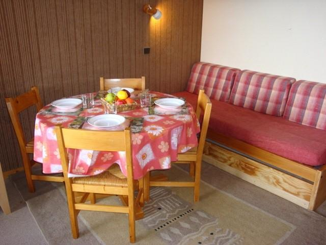Location au ski Appartement 3 pièces mezzanine 5 personnes (VM ORG 024 E) - Résidence l'Orgentil - Valmorel - Coin repas