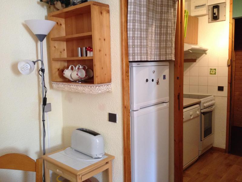 Location au ski Studio 4 personnes (005T) - Residence La Buche - Valmorel - Kitchenette