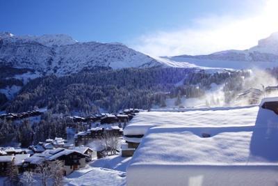 Ski verhuur Studio 4 personen (22) - Résidence la Cachette - Valmorel - Buiten winter
