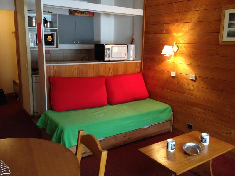 Location au ski Studio 2 personnes (017) - Residence La Camarine - Valmorel