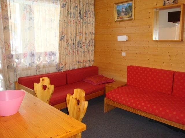 Location au ski Appartement 2 pièces 4 personnes (07T) - Résidence la Camarine - Valmorel - Banquette