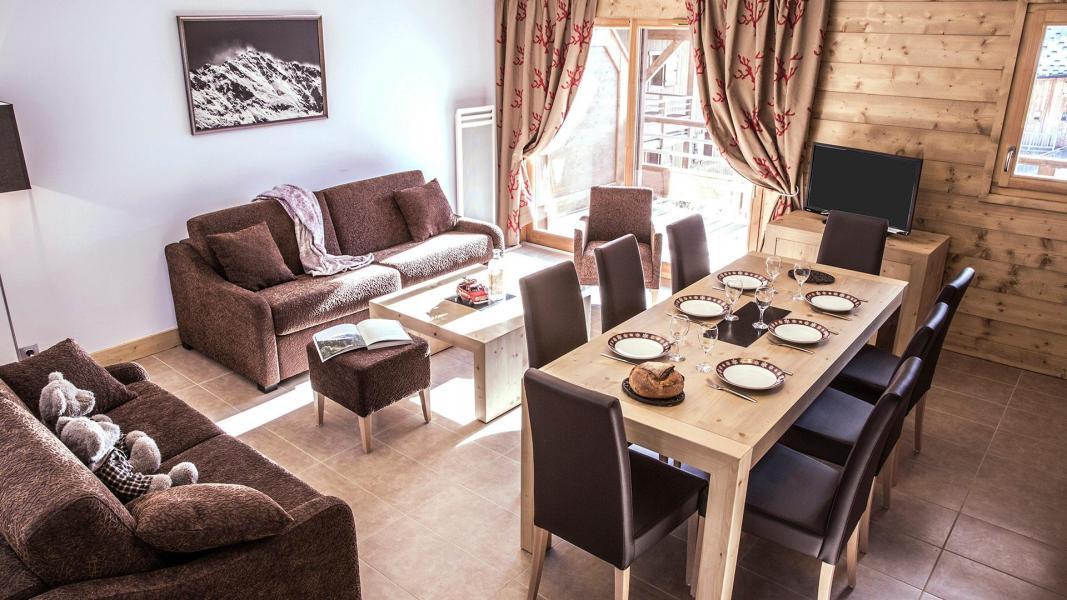 Location au ski Résidence la Grange Aux Fées - Valmorel - Salle à manger