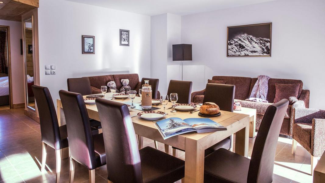 Soggiorno sugli sci Résidence la Grange Aux Fées - Valmorel - Tavolo