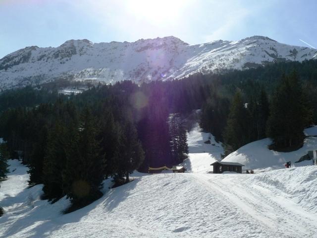 Location au ski Appartement 4 pièces mezzanine 7 personnes (053) - Résidence la Lauzière Dessous - Valmorel - Extérieur hiver