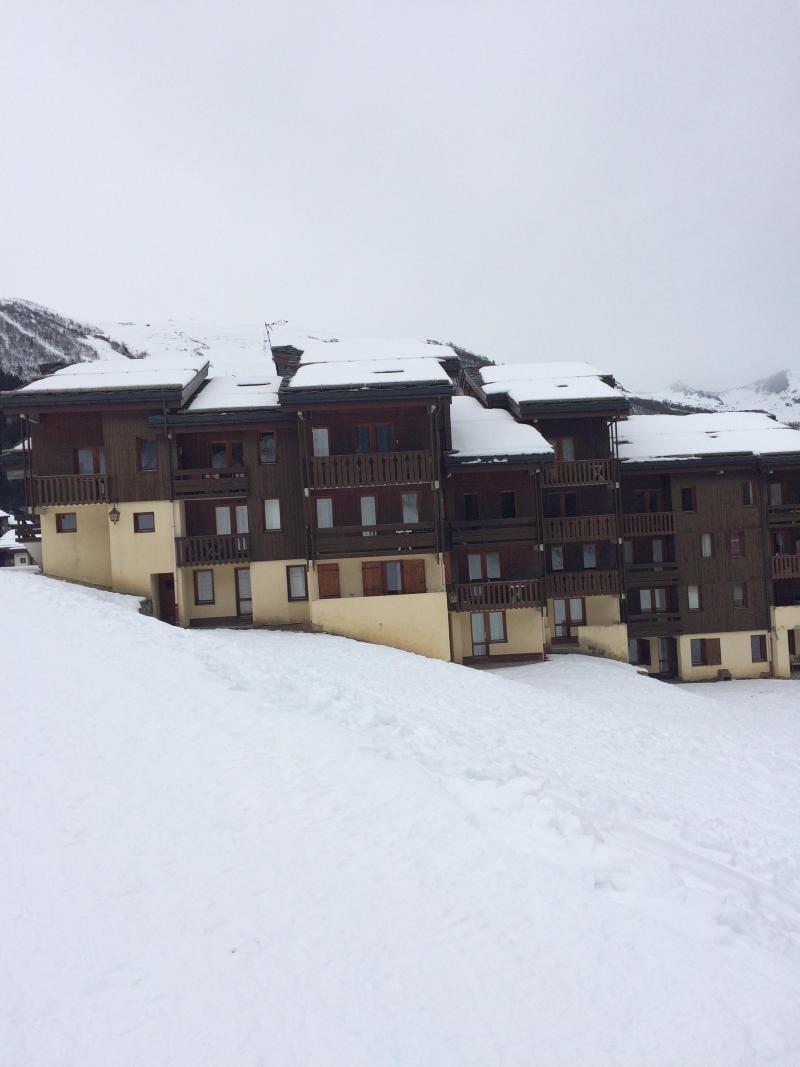 Location au ski Résidence la Lauzière Dessous - Valmorel - Extérieur hiver