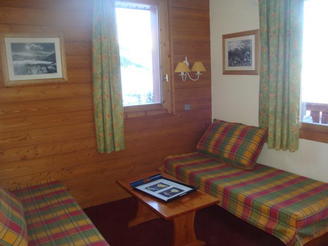 Location au ski Studio 4 personnes (035) - Résidence la Lauzière Dessous - Valmorel - Séjour