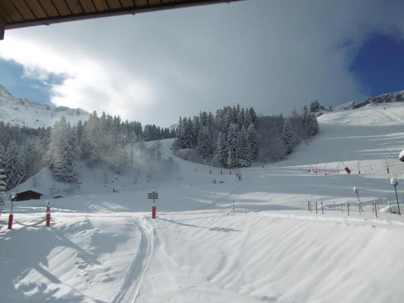 Location au ski Appartement 2 pièces 4 personnes ( 015 ) - Residence La Roche Combe - Valmorel - Extérieur hiver