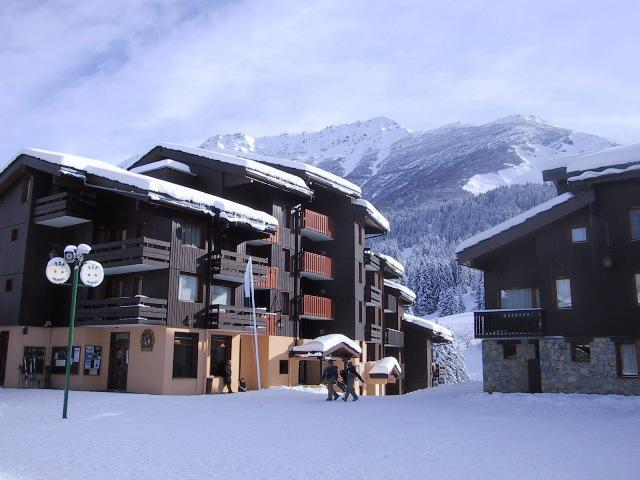 Location au ski Résidence la Roche Combe - Valmorel - Extérieur hiver