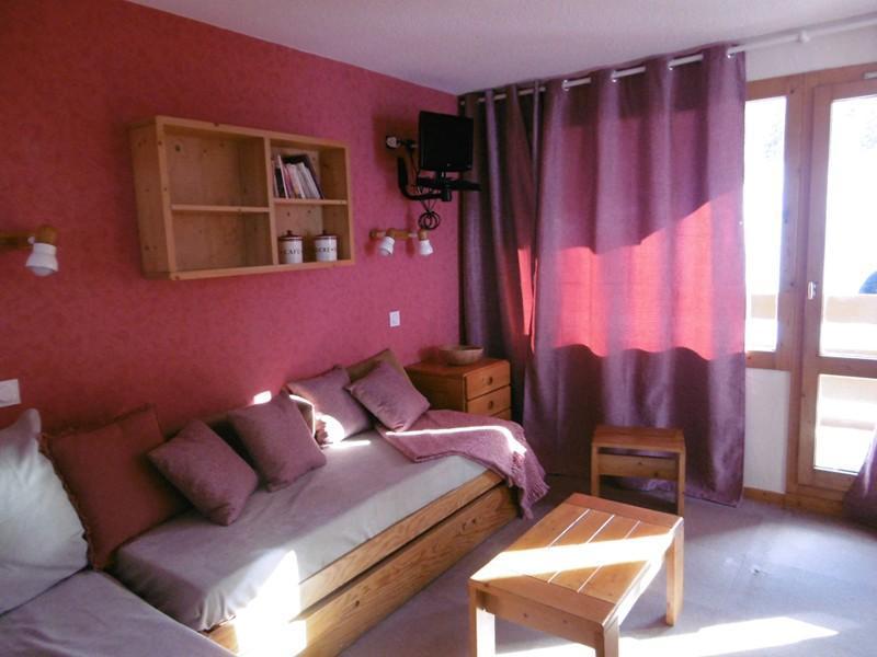 Location au ski Appartement 2 pièces 4 personnes ( 015 ) - Residence La Roche Combe - Valmorel - Coin repas