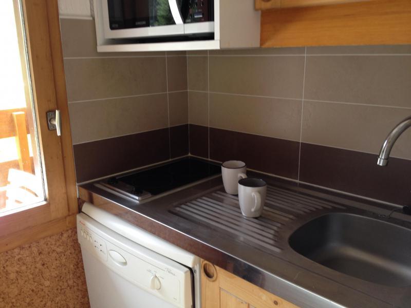 Location au ski Appartement 2 pièces 4 personnes ( 015 ) - Residence La Roche Combe - Valmorel - Kitchenette