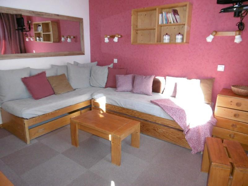 Location au ski Appartement 2 pièces 4 personnes ( 015 ) - Residence La Roche Combe - Valmorel - Séjour