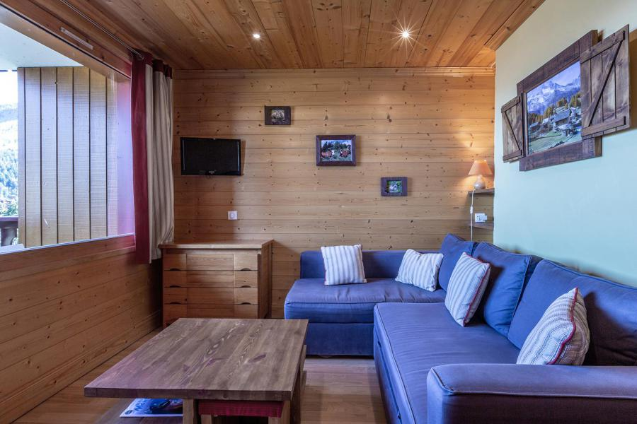 Ski verhuur Studio 4 personen (026) - Résidence la Roche Combe - Valmorel - Woonkamer