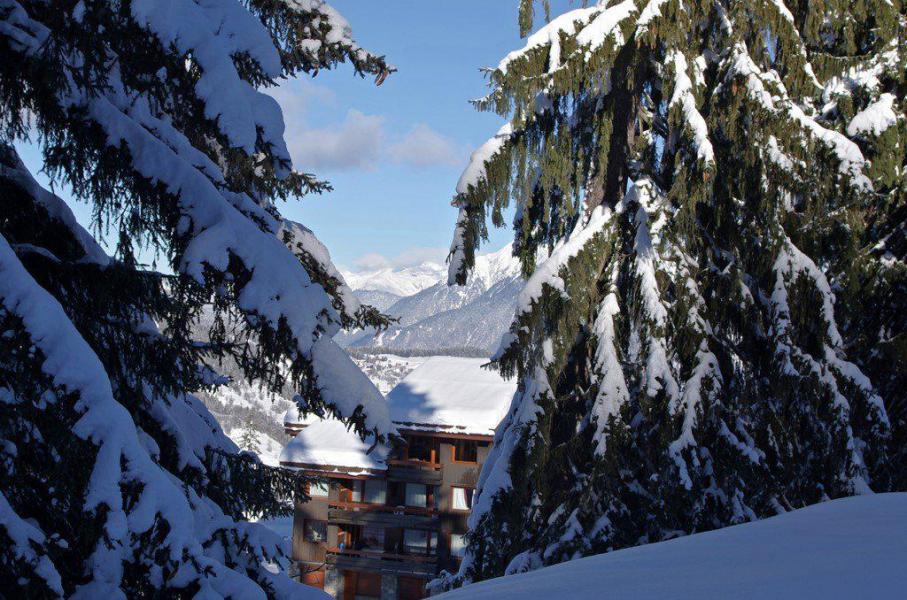 Wakacje w górach Apartament 2 pokojowy 5 osób (GL303) - Résidence la Valériane - Valmorel - Zima na zewnątrz
