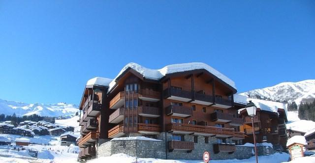 Wakacje w górach Apartament 3 pokojowy 7 osób (GL309) - Résidence la Valériane - Valmorel - Zima na zewnątrz