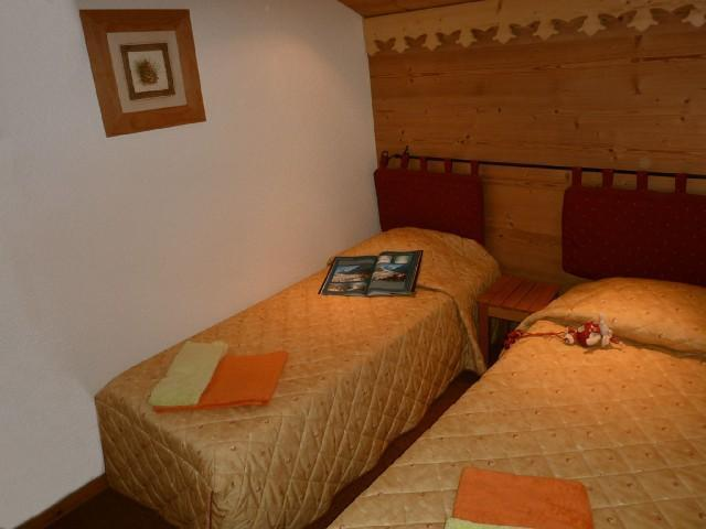 Location au ski Studio divisible 4 personnes (ST4-B29) - Residence Le Beauregard - Valmorel - Lit simple