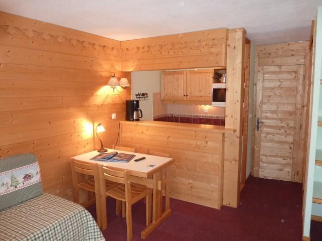 Location au ski Studio divisible 4 personnes (ST4-B30) - Residence Le Beauregard - Valmorel - Séjour