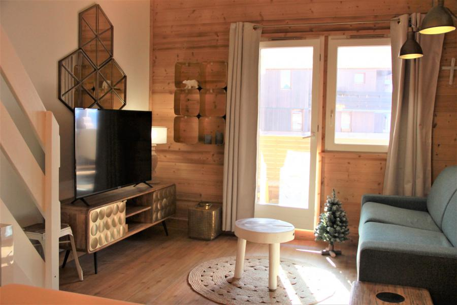Ski verhuur Appartement 4 kamers 8 personen (3/1) - Résidence le Bourg Morel G - Valmorel - Appartementen