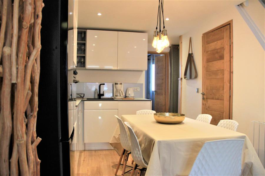 Ski verhuur Appartement 4 kamers 8 personen (3/1) - Résidence le Bourg Morel G - Valmorel - Keukenblok