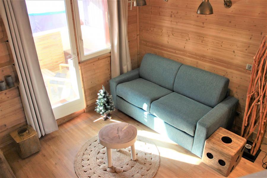 Location au ski Appartement 4 pièces 8 personnes (3/1) - Résidence le Bourg Morel G - Valmorel - Séjour