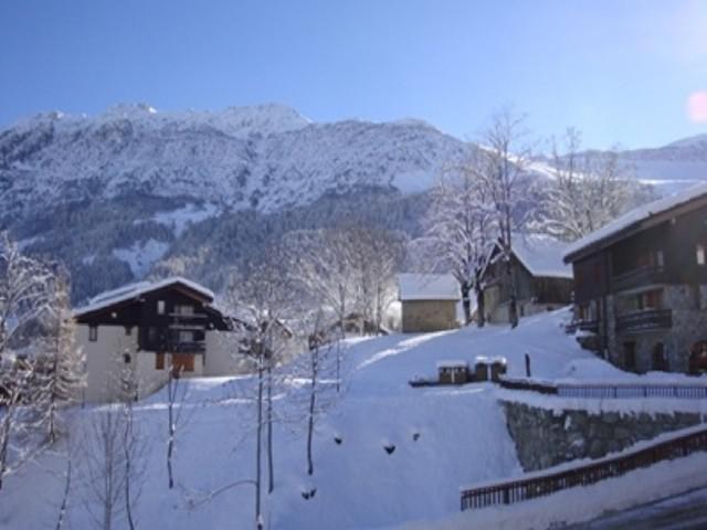 Ski verhuur Studio 4 personen (009) - Résidence le Bourgeon - Valmorel - Buiten winter