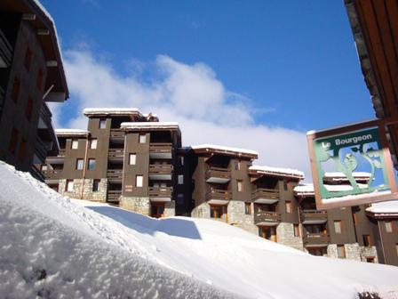Vacances en montagne Studio 4 personnes (003) - Résidence le Bourgeon - Valmorel - Extérieur hiver