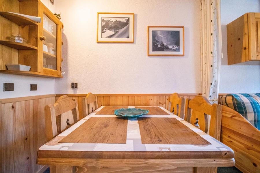 Ski verhuur Studio 4 personen (009) - Résidence le Bourgeon - Valmorel