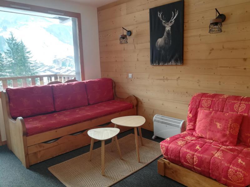 Location au ski Appartement 2 pièces 4 personnes (C30) - Résidence le Cheval Blanc - Valmorel - Banquette-lit