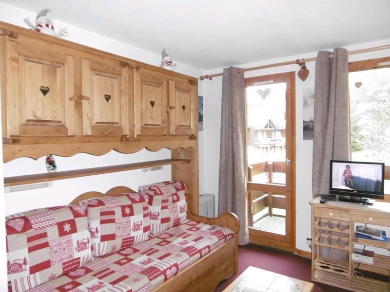 Location au ski Studio 3 personnes (33) - Residence Le Cheval Blanc - Valmorel - Appartement