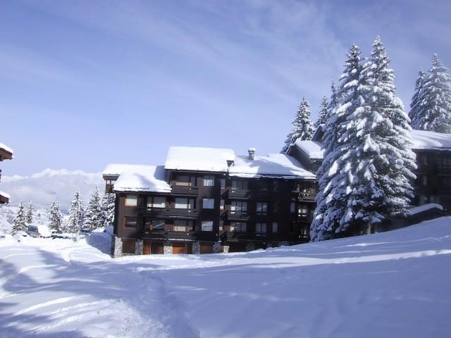 Ski verhuur Résidence le Cheval Noir - Valmorel - Buiten winter