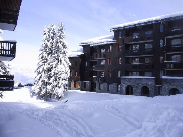 Location au ski Résidence le Cheval Noir - Valmorel - Extérieur hiver