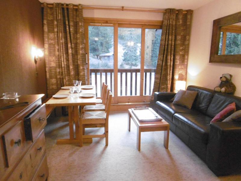 Ski verhuur Appartement 2 kamers 5 personen (047) - Résidence le Cheval Noir - Valmorel - Woonkamer