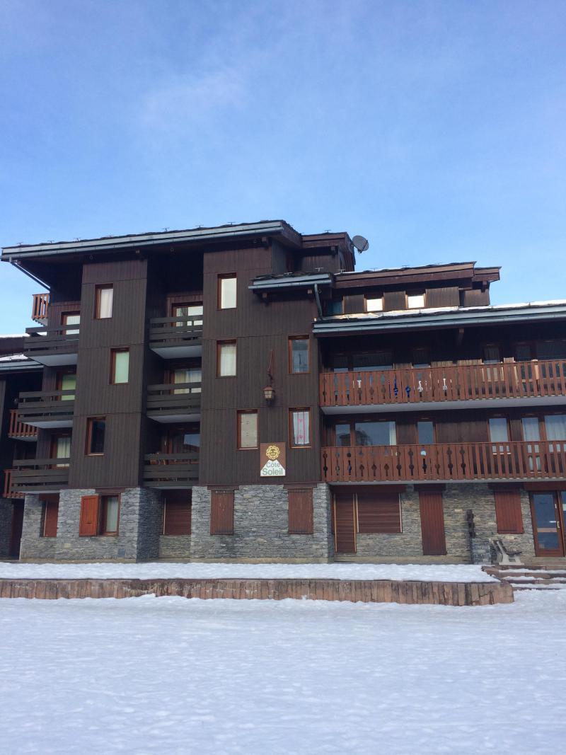 Location au ski Résidence le Côté Soleil - Valmorel - Extérieur hiver
