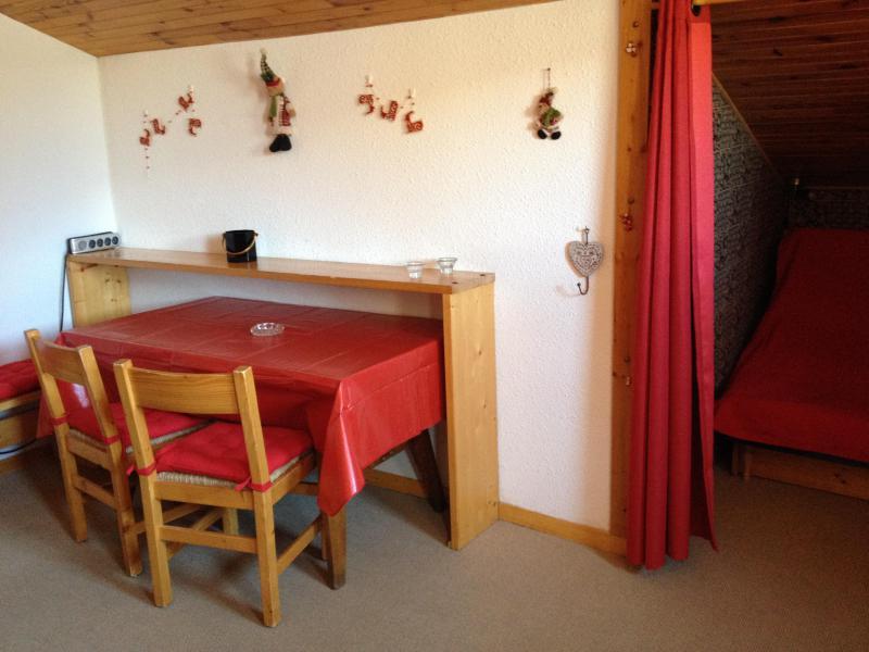 Ski verhuur Studio 2 personen (049) - Résidence le Côté Soleil - Valmorel - Appartementen