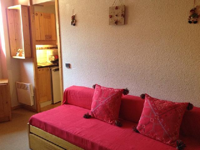 Location au ski Studio 2 personnes (252) - Residence Le Cote Soleil - Valmorel - Séjour
