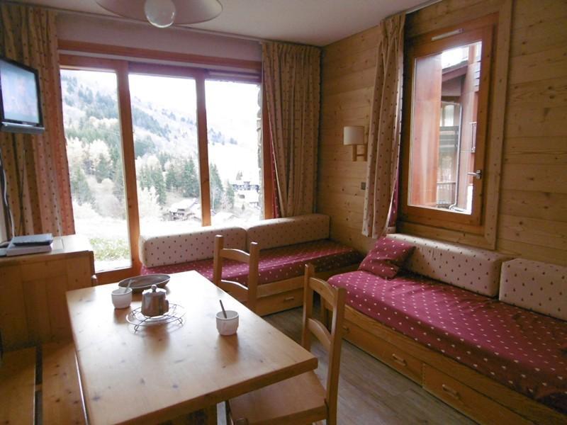 Location au ski Studio 4 personnes (001) - Residence Le Cristallin - Valmorel