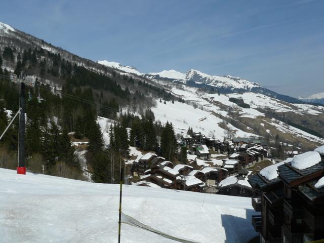 Location au ski Studio 2 personnes (013) - Résidence le Cristallin - Valmorel - Extérieur hiver